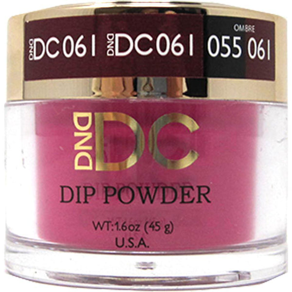 DND - DC Dip Powder - Wineberry 2 oz - #061