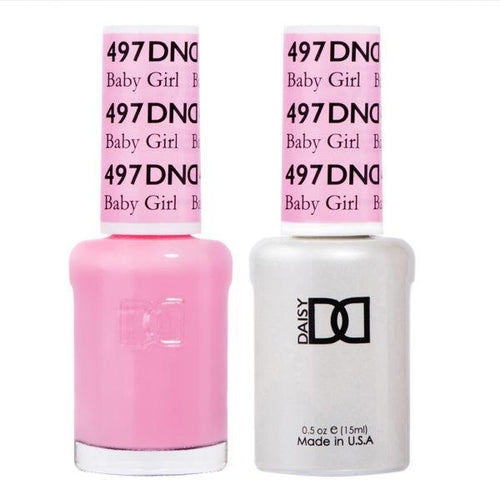 DND - Gel & Lacquer - Baby Girl - #497