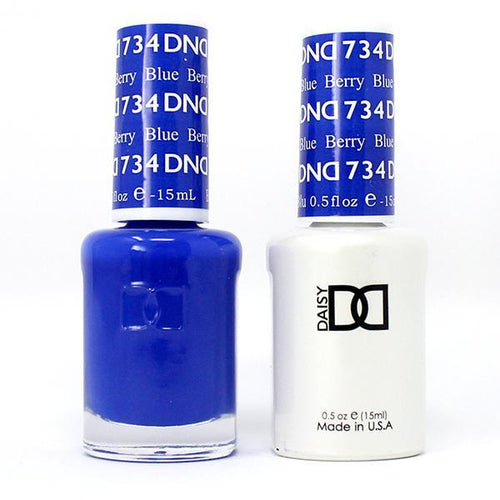 DND - Gel & Lacquer - Berry Blue - #734