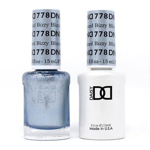 DND - Gel & Lacquer - Bizzy Blizzard - #778