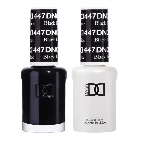 DND - Gel & Lacquer - Black Licorice - #447