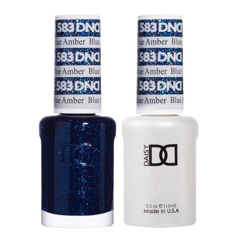 DND - Gel & Lacquer - Blue Amber - #583