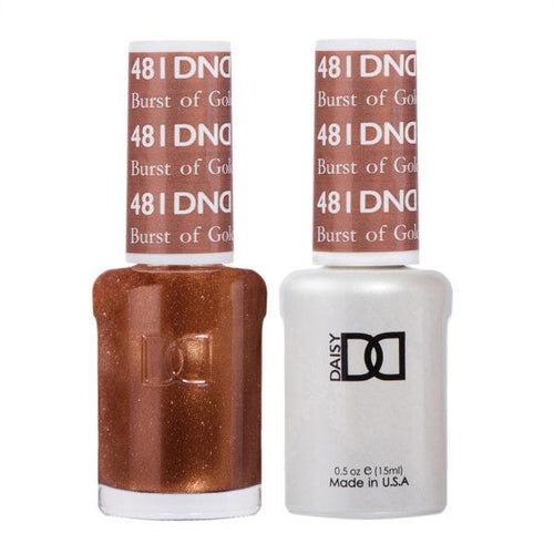 DND - Gel & Lacquer - Burst of Gold - #481