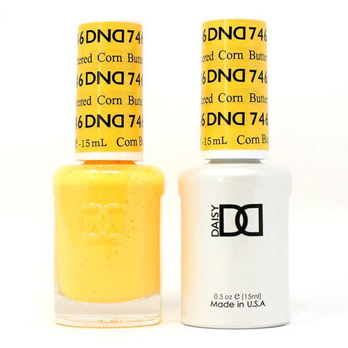 DND - Gel & Lacquer - Buttered Corn - #746