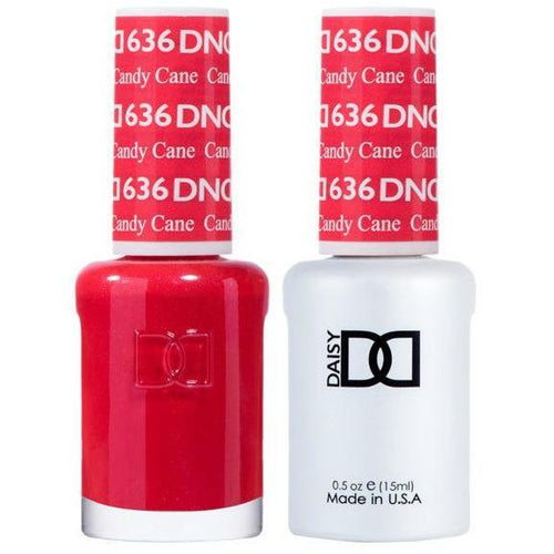 DND - Gel & Lacquer - Candy Cane - #636