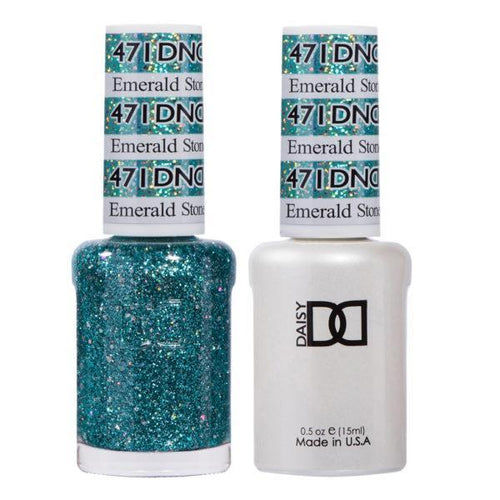 DND - Gel & Lacquer - Emerald Stone - #471