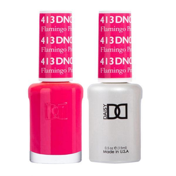 DND - Gel & Lacquer - Flamingo Pink - #413