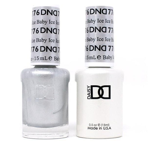 DND - Gel & Lacquer - Ice Ice Baby - #776