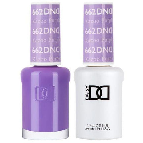 DND - Gel & Lacquer - Kazo Purple - #662