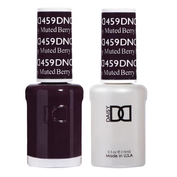 DND - Gel & Lacquer - Muted Berry - #459