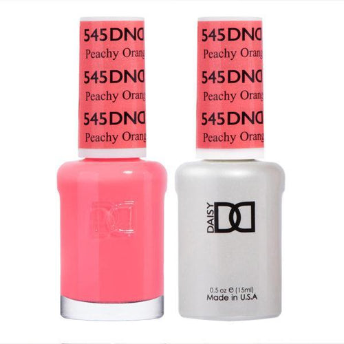DND - Gel & Lacquer - Peachy Orange - #545