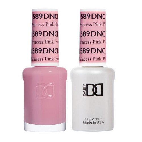 DND - Gel & Lacquer - Princess Pink - #589