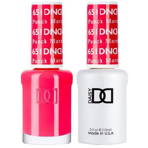 DND - Gel & Lacquer - Punch Marshmallow - #651