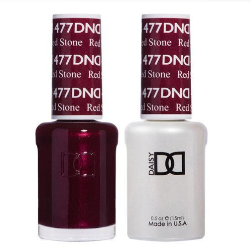 DND - Gel & Lacquer - Red Stone - #477