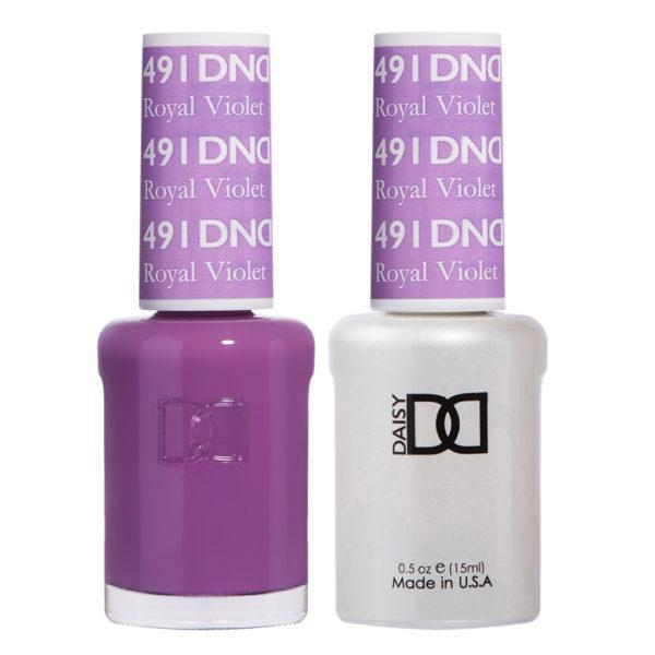 DND - Gel & Lacquer - Royal Violet - #491