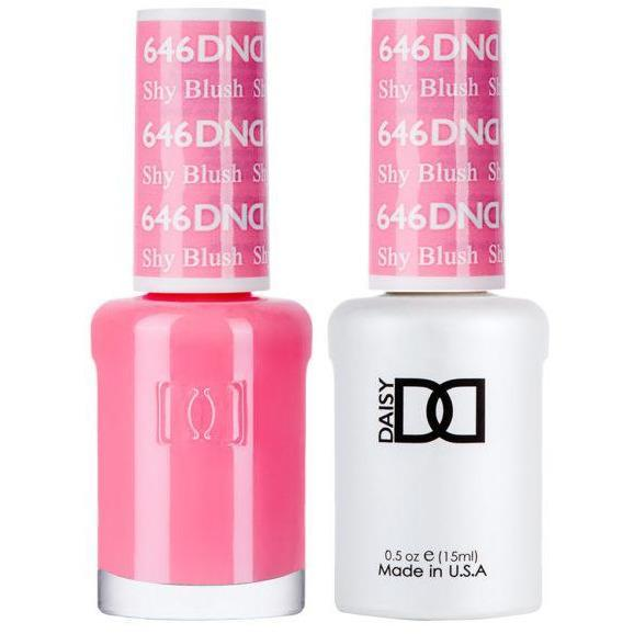DND - Gel & Lacquer - Shy Blush - #646