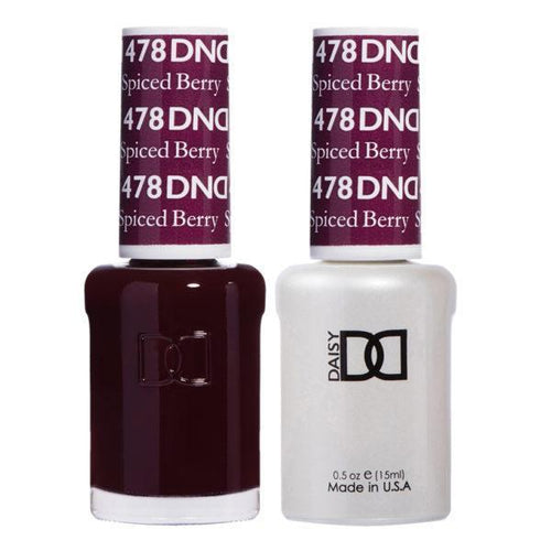DND - Gel & Lacquer - Spiced Berry - #478