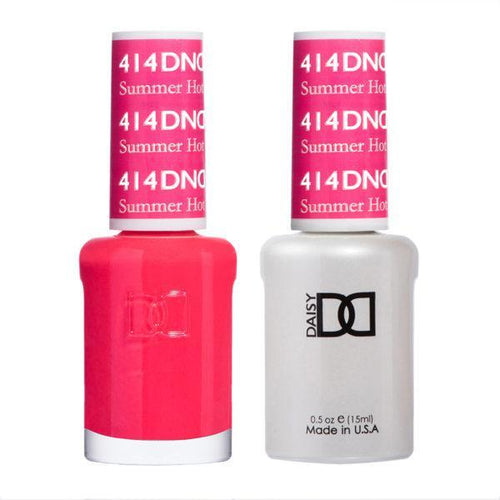 DND - Gel & Lacquer - Summer Hot Pink - #414