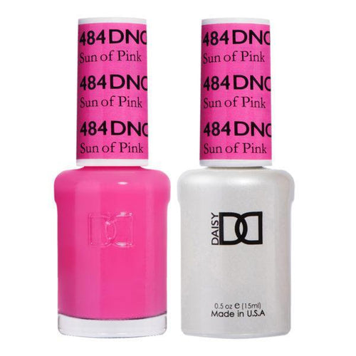 DND - Gel & Lacquer - Sun of Pink - #484