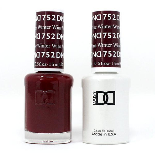 DND - Gel & Lacquer - Winter Wine - #752