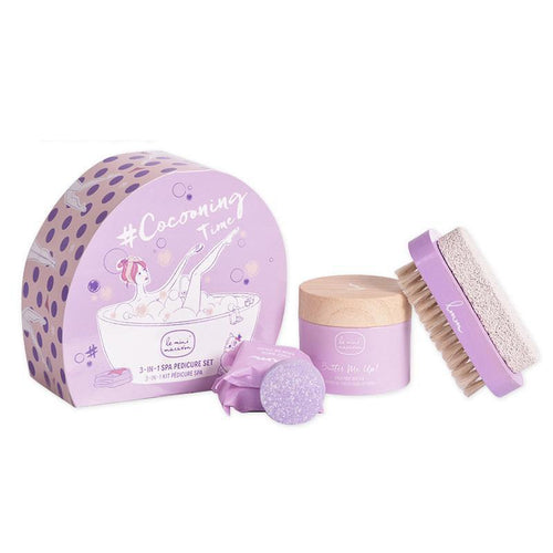 Le Mini Macaron - Cocooning Time 3-In-1 Spa Pedicure Set