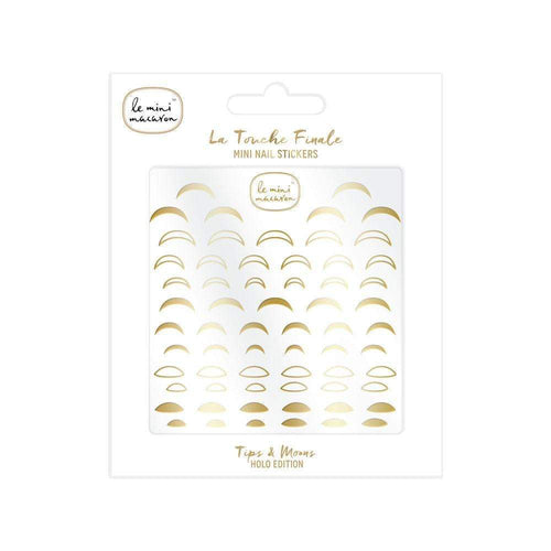Le Mini Macaron Mini Nail Stickers - Tips and Moons