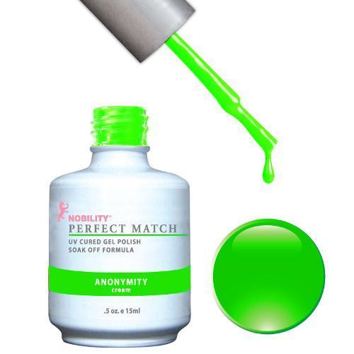 LeChat Perfect Match Gel / Lacquer Combo - Anonymity 0.5 oz - #PMS40