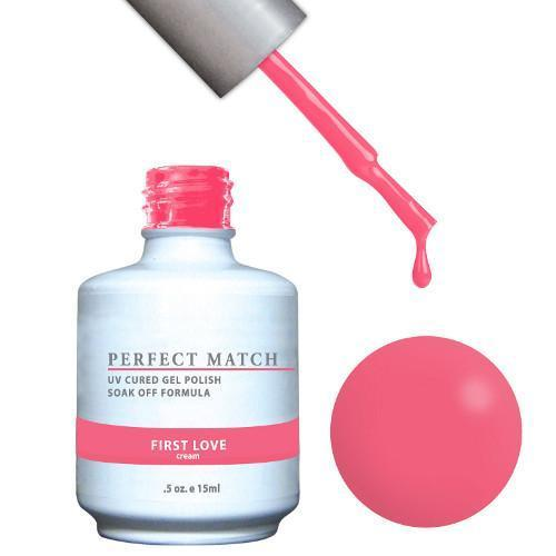 LeChat Perfect Match Gel / Lacquer Combo - First Love 0.5 oz - #PMS95