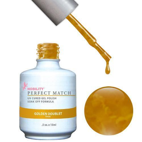 LeChat Perfect Match Gel / Lacquer Combo - Golden Doublet 0.5 oz - #PMS22