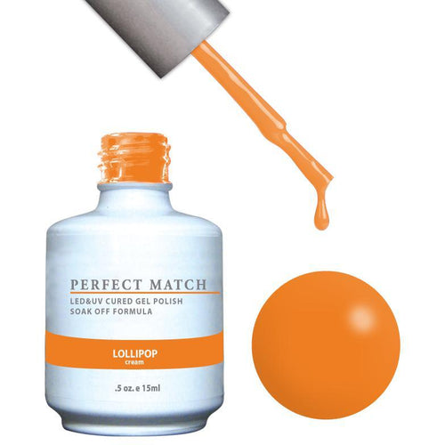 LeChat Perfect Match Gel / Lacquer Combo - Lollipop 0.5 oz - #PMS117