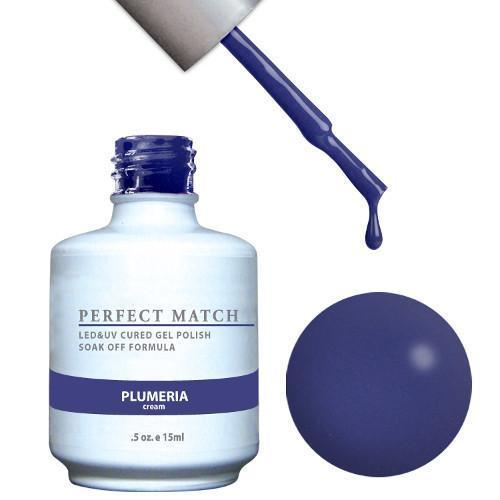 LeChat Perfect Match Gel / Lacquer Combo - Plumeria 0.5 oz - #PMS101