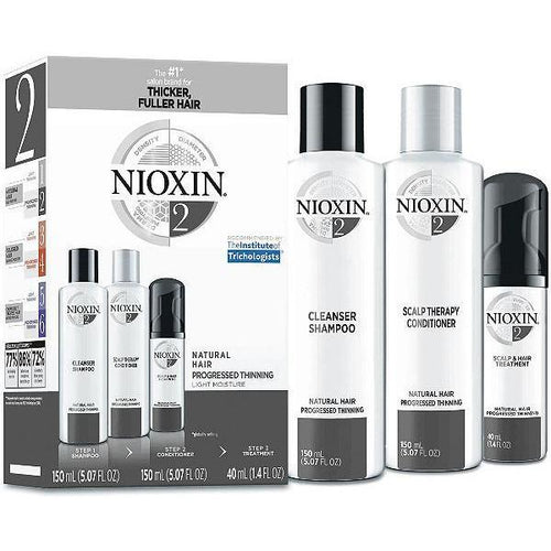 Nioxin Shampoo, Conditioner, Scalp Treatment - System Kit 2