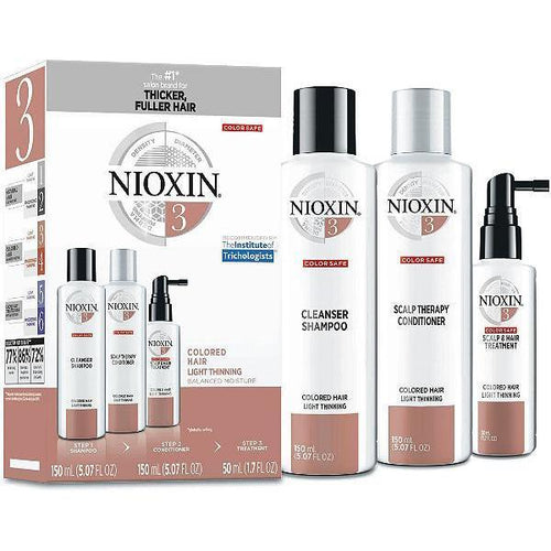 Nioxin Shampoo, Conditioner, Scalp Treatment - System Kit 3