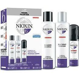 Nioxin Shampoo, Conditioner, Scalp Treatment - System Kit 6