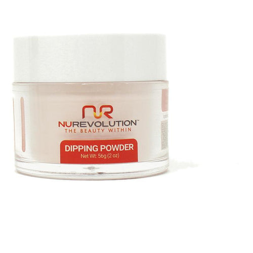 NuRevolution - Dip Powder - Almond Blossom 2 oz - #138