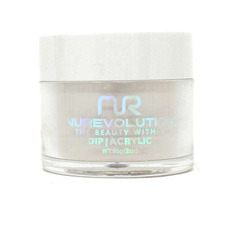 NuRevolution - Dip Powder - Cookies 'n Cream 2 oz - #88