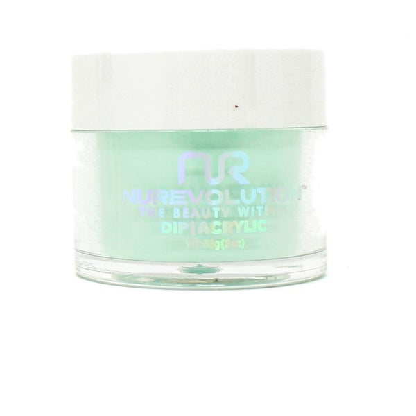 NuRevolution - Dip Powder - Cool Mint 2 oz - #99