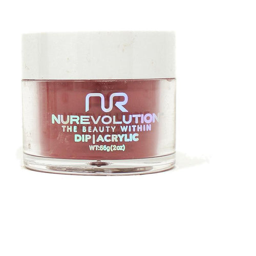 NuRevolution - Dip Powder - Cranberry Sauce 2 oz - #123