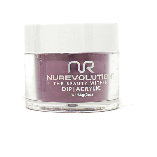 NuRevolution - Dip Powder - Dark Angel 2 oz - #22