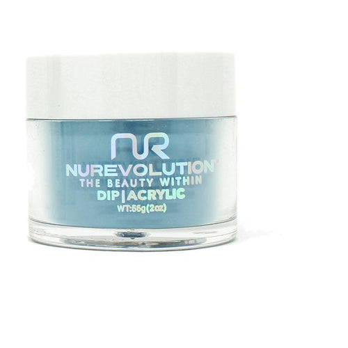 NuRevolution - Dip Powder - Feeling Bleu 2 oz - #126