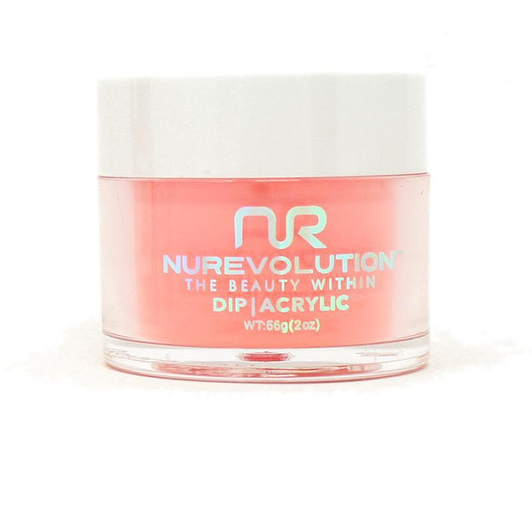 NuRevolution - Dip Powder - Flaming Red 2 oz - #74