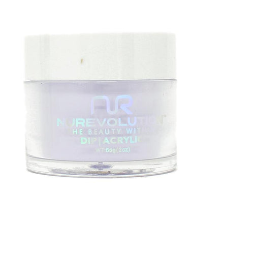 NuRevolution - Dip Powder - Lavender Cotton 2 oz - #113
