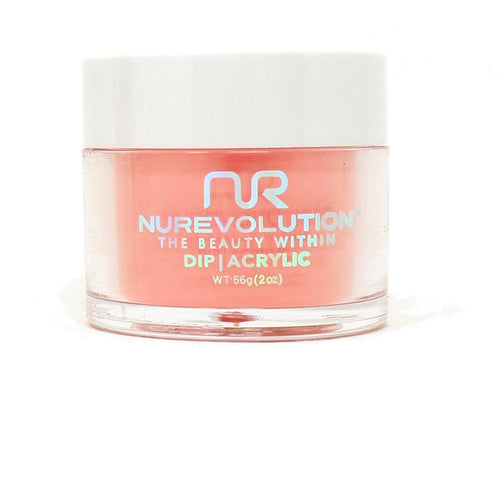 NuRevolution - Dip Powder - Malibu Sunset 2 oz - #103
