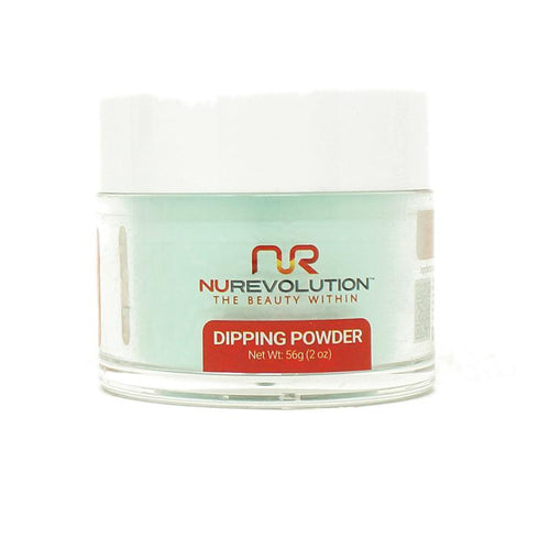 NuRevolution - Dip Powder - Mint-To-Be 2 oz - #04
