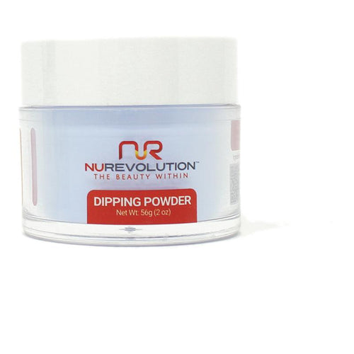NuRevolution - Dip Powder - Peek-a-Blue 2 oz - #132