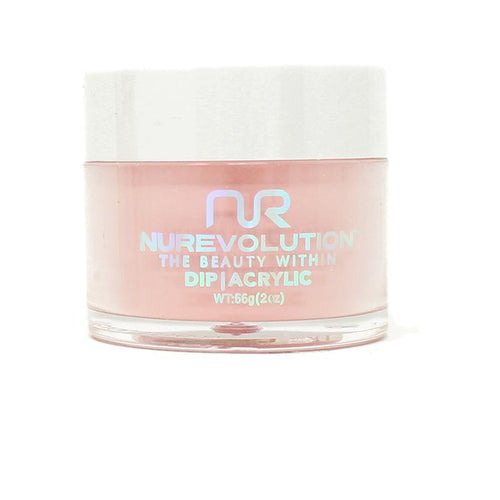 NuRevolution - Dip Powder - Pink Satin 2 oz - #62