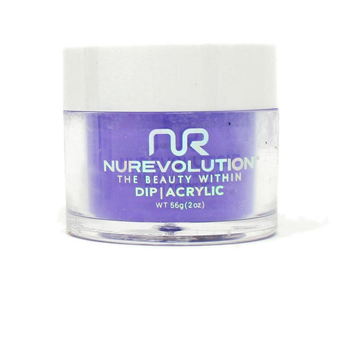 NuRevolution - Dip Powder - Plum Posse 2 oz - #94