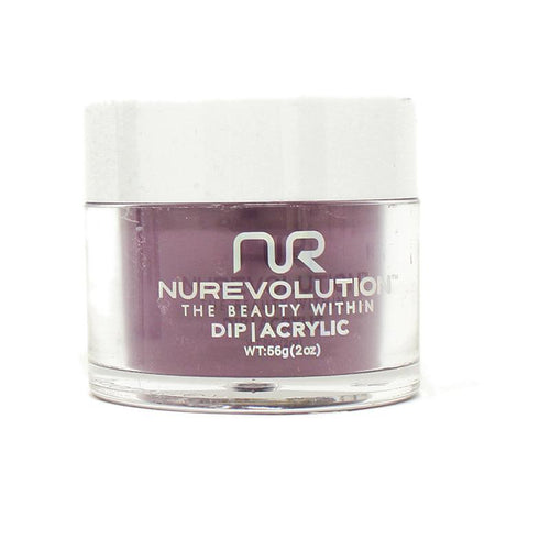 NuRevolution - Dip Powder - Purple Please 2 oz - #21