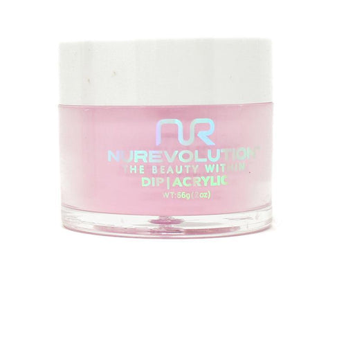 NuRevolution - Dip Powder - Tropical Pink 2 oz - #102