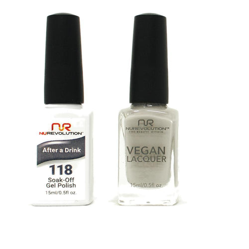 NuRevolution - Gel & Lacquer - After a Drink - #118